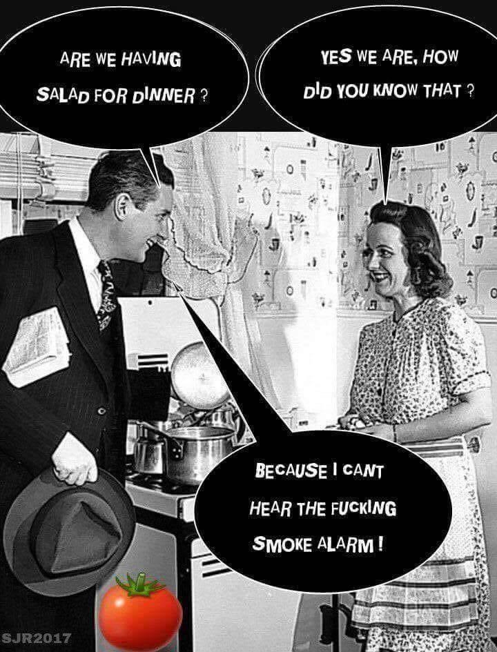 Salad for dinner?