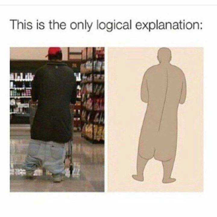 Men's fashion today..
