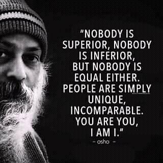 Nobody is superior