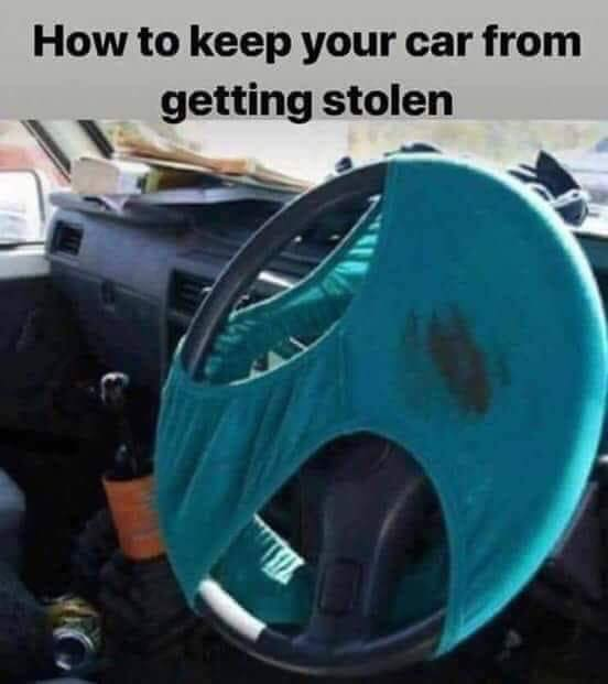 Theft prevention..